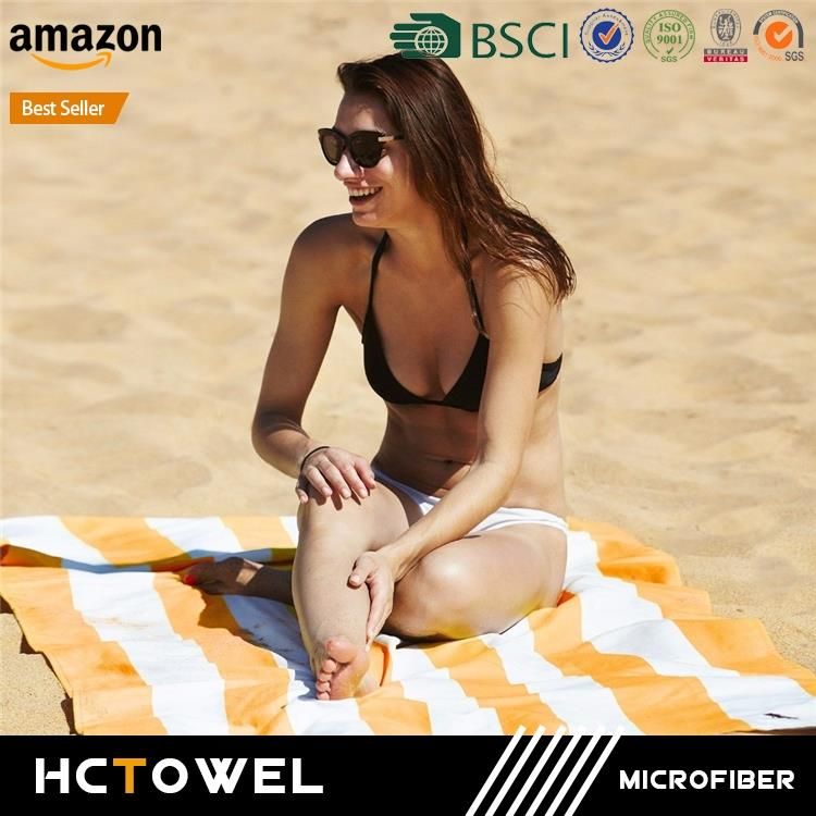 wholesale microfiber sublimation printing beach towel