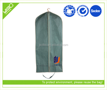 Customized dustproof non woven/oxford luxury suit covers garment bags