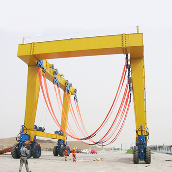 Nucleon general electric 100 ton mobile boat lifting hoist
