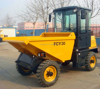 wholesale 3 ton 4X4WD china dumper truck with cab