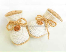 2015 new product handmade baby crochet shoes for 0-12 Month