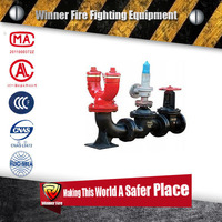 Hot sale Under-ground Type Fire Hydrant Pump Connectors for fire hose