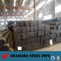china steel mills ! welded square ss400 steel pipe chair 10x50 rectangular steel pipe