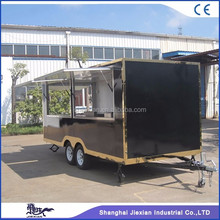 JX-FS500C New style big space food truck/ice cream vending trucks for sale
