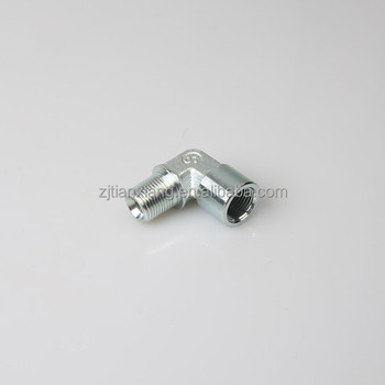 Wholesale manufactory carbon steel hydraulic fittings 90 degree elbow