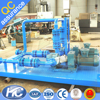 Transmission crude oil transfer pump / heavy fuel oil pump for liquid and crude oil