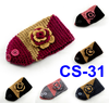 (CS-31 )High Quality Knitted Acrylic fashion Turban headband with button