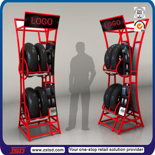 Shop Retail Metal Tire Display Stand Rack Buy Tire