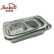 Hot sales disposable customized sizes round high quality aluminum food containers