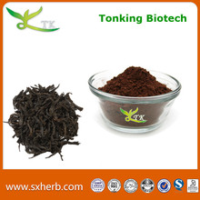 Natural black tea extract caffeine powder
