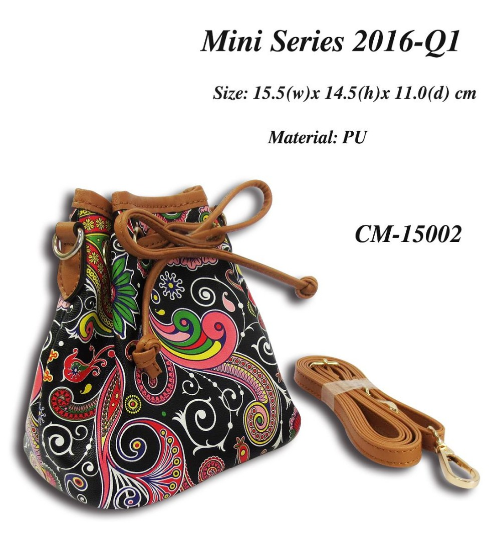 Mini Series Bucket Bag