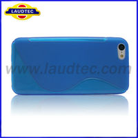 For Iphone5c Case S Line TPU Cell Phone Case for Iphone5c, New Product, Laudtec