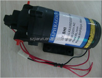 DC permanent magnet motor for water pump
