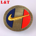 Factory Direct Wholesales Funky Garment Labels Iron Patch High Density Patch Custom Logo Embroidery Iron On Patches
