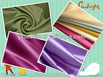dyeing, printing, coating satin