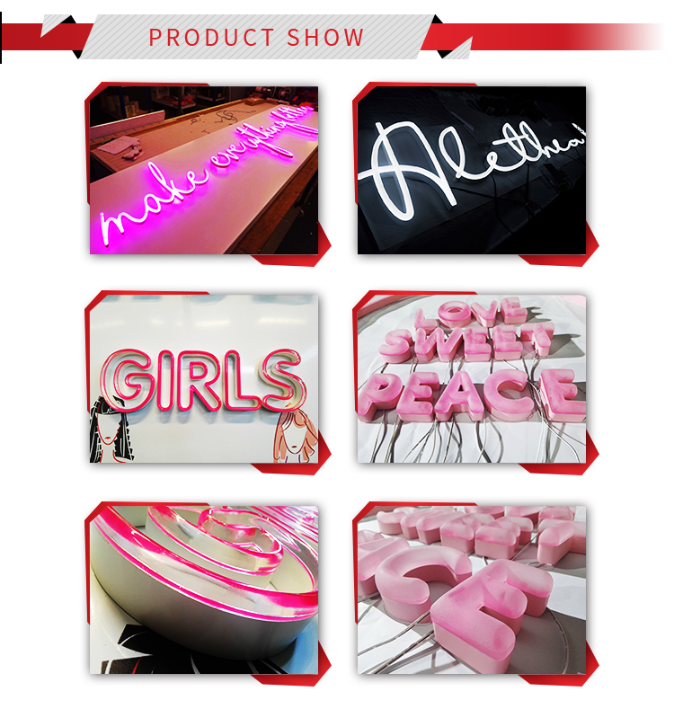 Street Lit Plastic Stand Beer Wall Girls Girls Girls Neon Sign Advertising