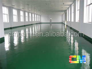 good quality washable indoor concrete acrylic antistatic floor paint for facory