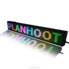 High quality display board material p10 indoor outdoor color programmable led sign