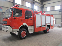 Dongfeng 6ton fire fighting truck 4x4