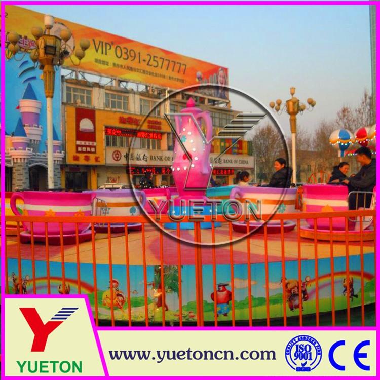 coffee cup rides from Zhengzhou Yueton Amusement