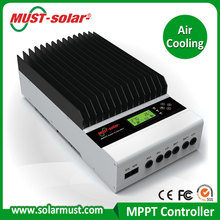 MPPT efficiency >99% Peak conversion 12/24/36/48v auto work 45A MPPT solar power charger controller