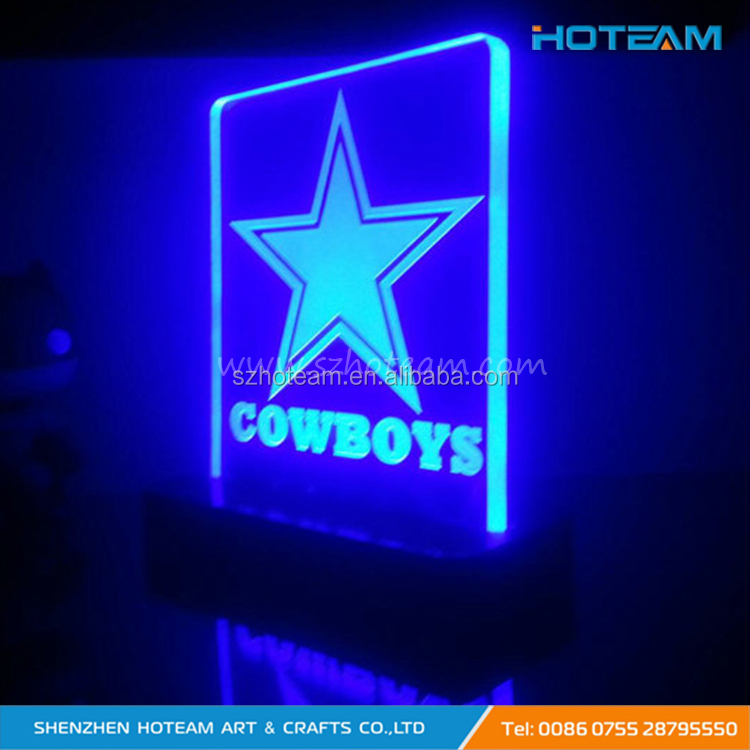 Programmable Five-star Acrylic LED Tabletop Sign Display