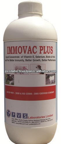 Vitamin and Selenium for veterinary use