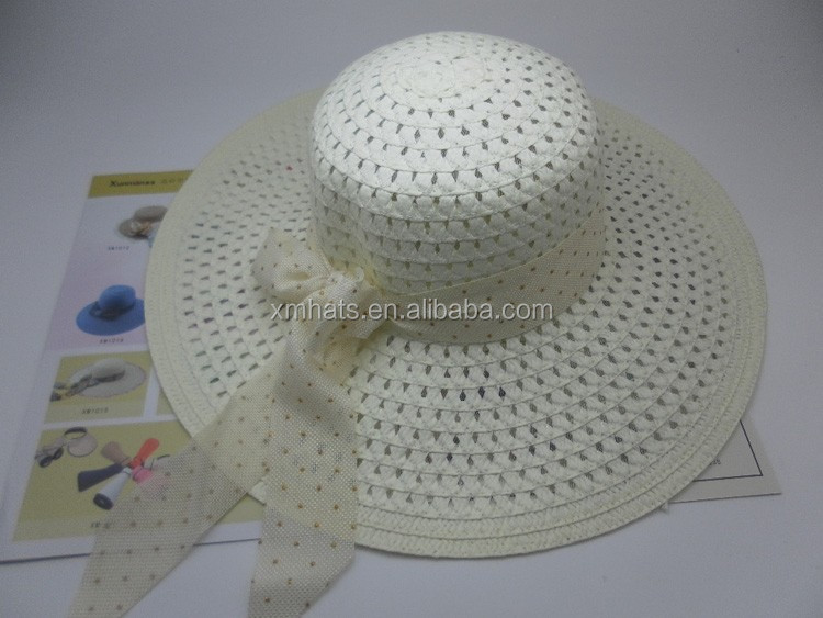 Newest top quality promotional wide brim sombrero straw hat