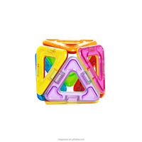 Small Gift Item 8 pcs Triangles Magnetic Toys For Kids Building Fun with Free Sample