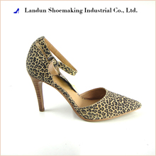 High - grade sexy ladies Leopard high heel shoes for party