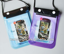PVC Waterproof sailing bag for cell phone