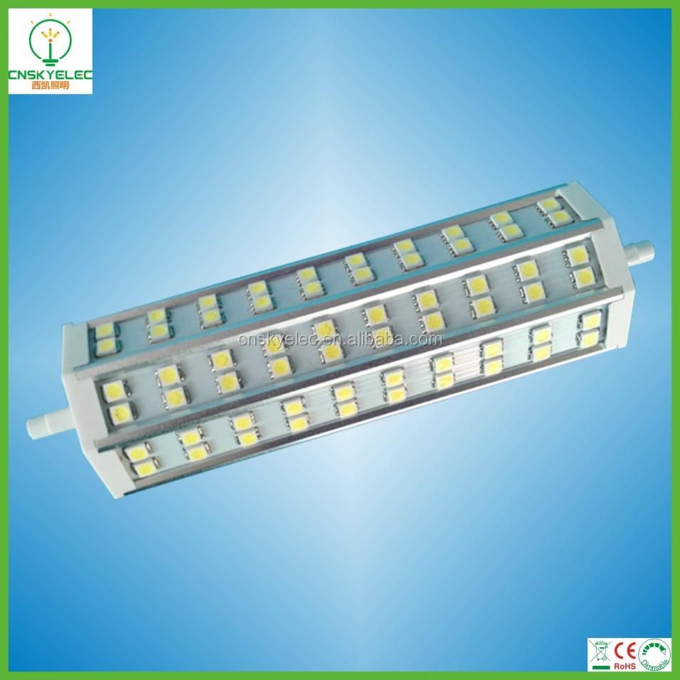 double ended halogen bulb 130watt replacement led r7s light 13w 1300lm