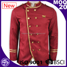 Western Royal Red Hotel Chef jackets/Restaurant Uniforms