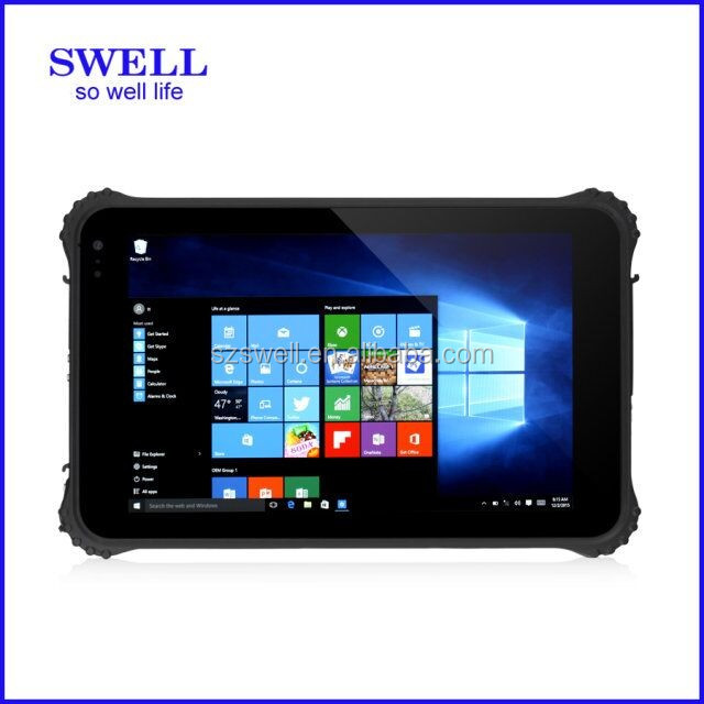 I82 rugged 8inch IPS 380 Lumen window8.1 NFC fingerprint RS232 port oem win8 pc