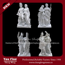 Hand Carved Garden Famous Natural Marble Sculpture