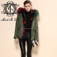 Romantic colour foxfur coat/The small fur jacket/New fashion fur coat