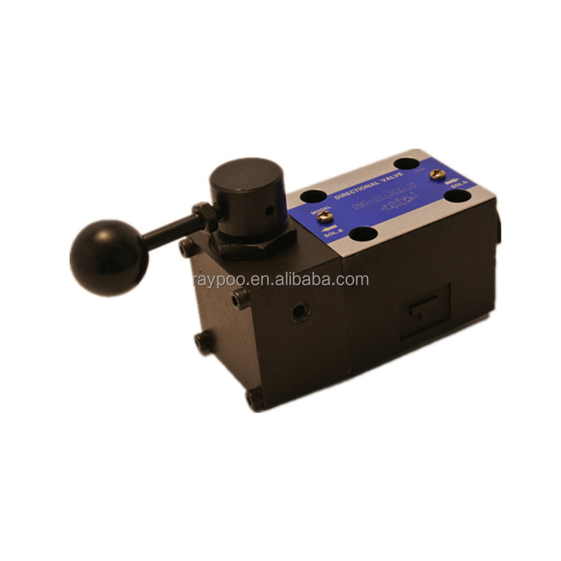yuken type manually operated directional valves dump truck hydraulic valves