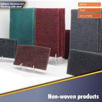 industrial diamond non-woven hand pads for polishing stone,marble,glass,ceramic, plastic , cast