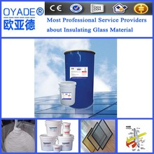 hollow glass two components Polyurethane silicone sealant provide free sample