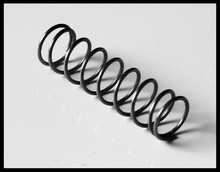 Auto coiled custom steel elevator buffer spring