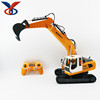 6 channel remote control toy truck rc excavator