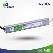 IP67 waterproof 45W 12v ac 12v dc led driver with CE&ROHS