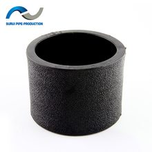 HDPE plastic pipe fittings equal coupling and HDPE water equal socket