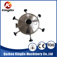 stainless steel tank pressure manhole cover