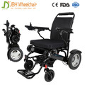 12 inch Lightweight Folding electric motor wheelchair with 12AH lithium battery