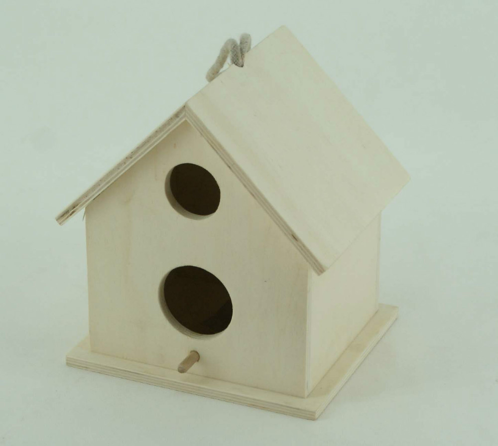 cheap small cute indoor wooden bird houses