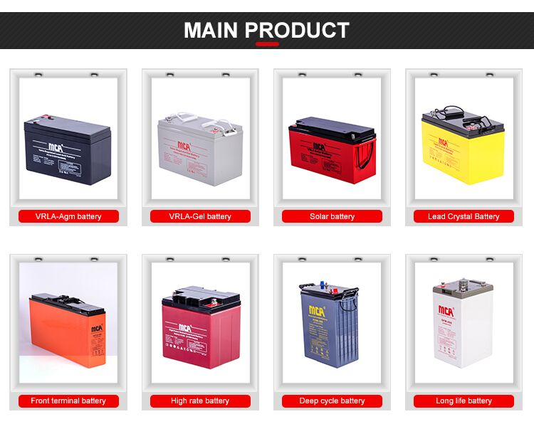 12V 110Ah Sealed Lead acid Battery AGM/VRLA Battery, Rechargeable Solar battery 2V telecom