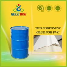 Two component polyurethane resin for pvc pu
