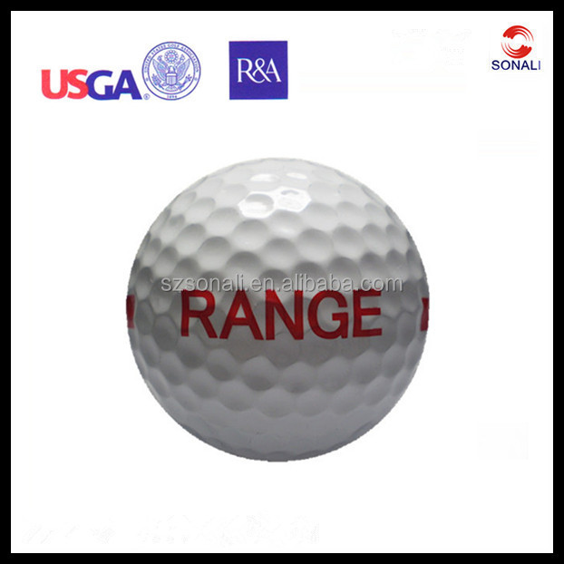 Cheap Stripe Range Logo High Quality ram Golf Ball