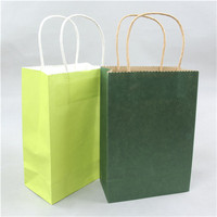 Cute but inexpensive high quality kraft paper package bag fried chicken bag